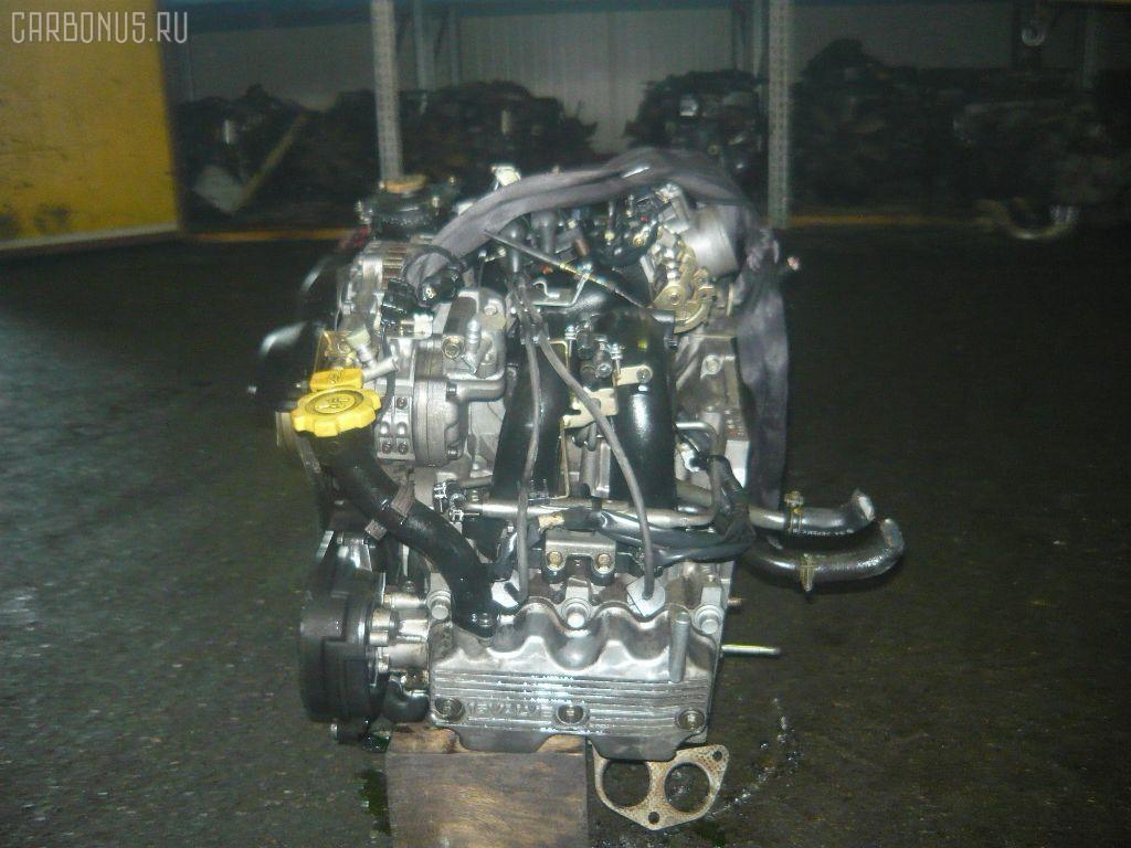 Двигатель SUBARU FORESTER SF5 EJ20J. Фото 6