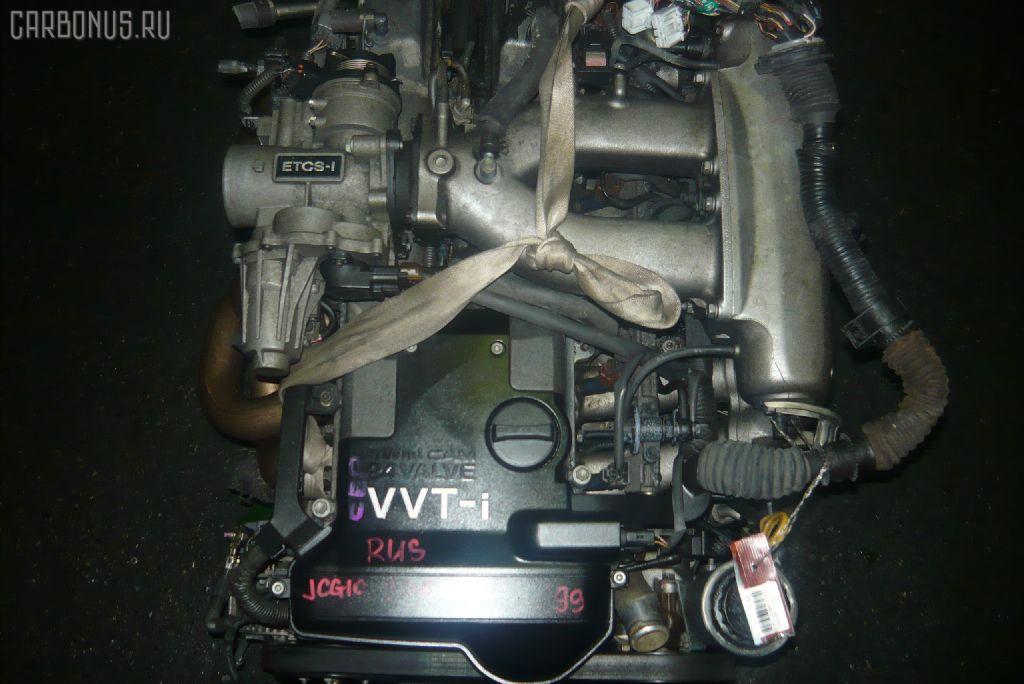 Двигатель TOYOTA PROGRES JCG10 1JZ-GE. Фото 3