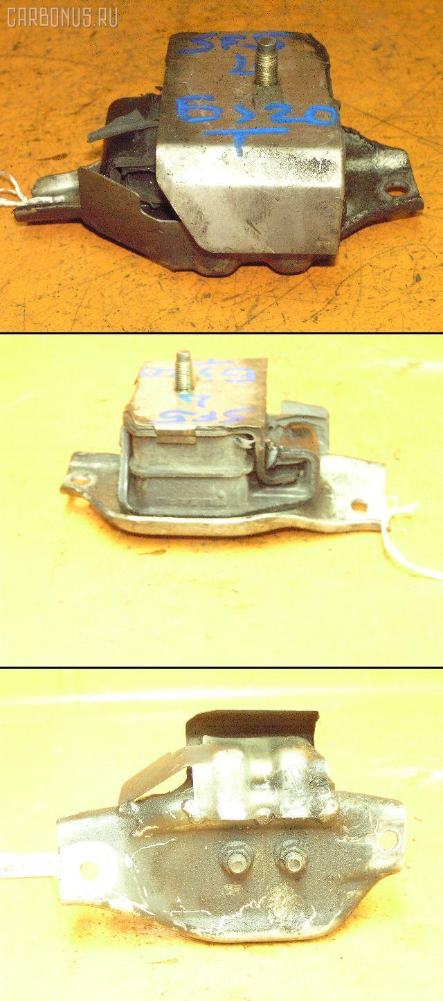Подушка двигателя SUBARU FORESTER SF5 EJ20T. Фото 2