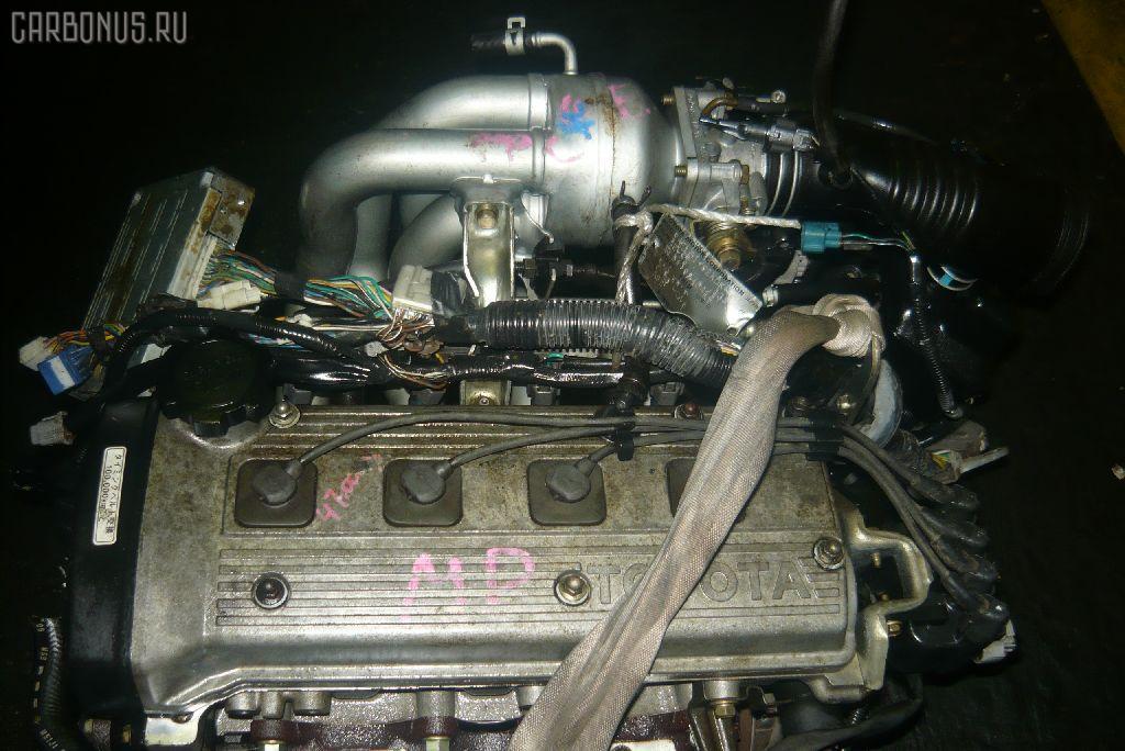 Двигатель TOYOTA CORSA EL51 4E-FE. Фото 5
