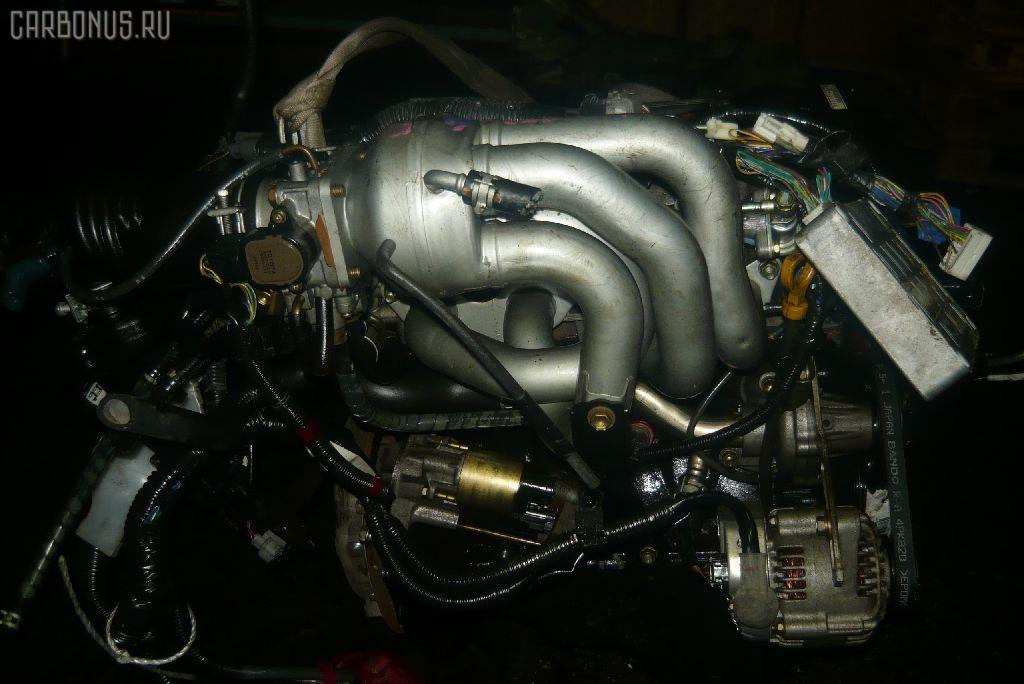Двигатель TOYOTA CORSA EL51 4E-FE. Фото 6