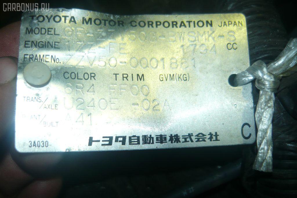 Двигатель TOYOTA VISTA ZZV50 1ZZ-FE. Фото 2