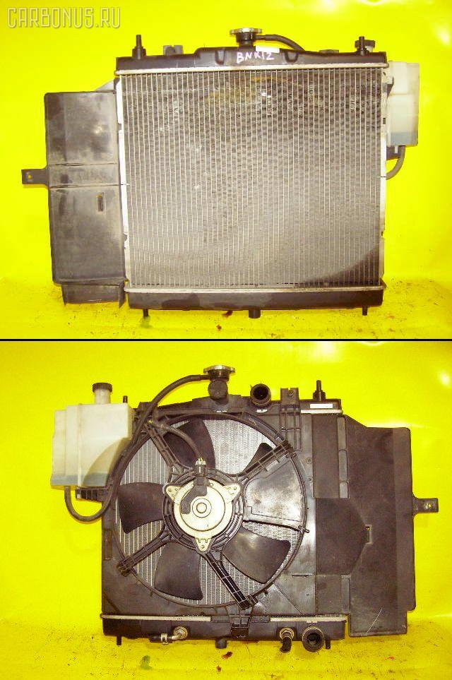 Радиатор ДВС NISSAN MARCH BNK12 CR14DE. Фото 5