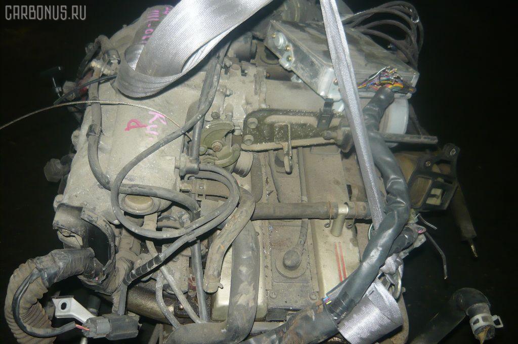 Двигатель TOYOTA CHASER GX81 1G-GE. Фото 4