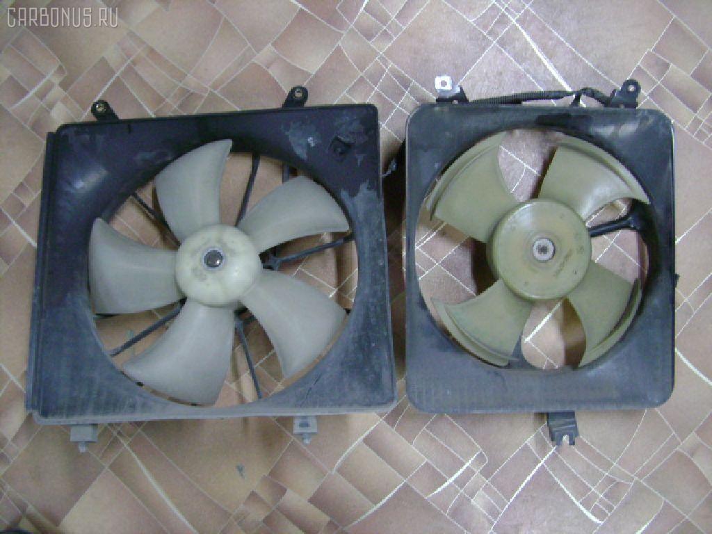 Вентилятор радиатора ДВС HONDA ACCORD WAGON CF6 F23A. Фото 2