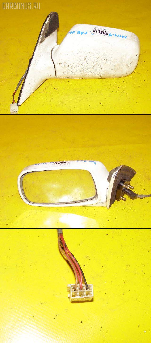 Зеркало двери боковой TOYOTA SPRINTER CARIB AE111G. Фото 9