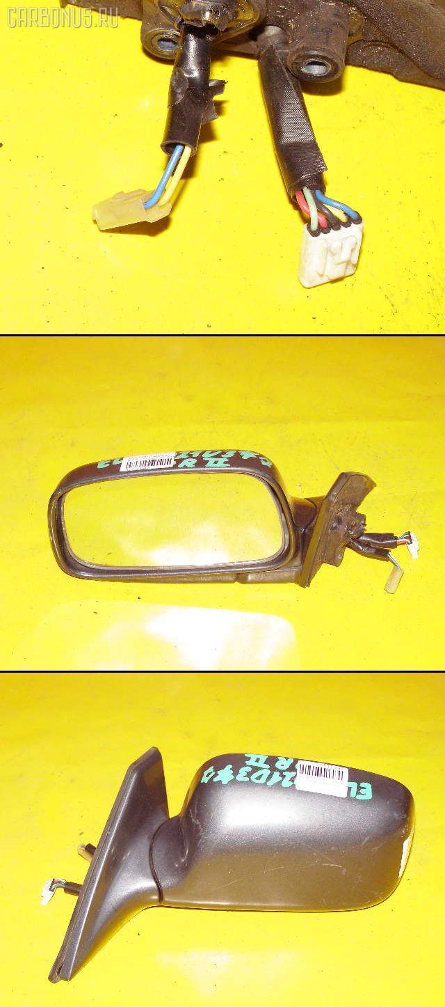 Зеркало двери боковой TOYOTA COROLLA II EL41. Фото 1