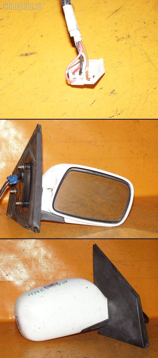 Зеркало двери боковой TOYOTA PLATZ NCP12. Фото 10