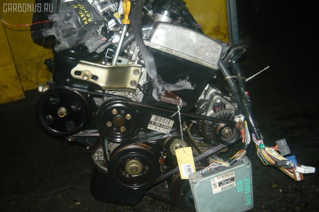 Двигатель TOYOTA CARINA AT192 5A-FE. Фото 9