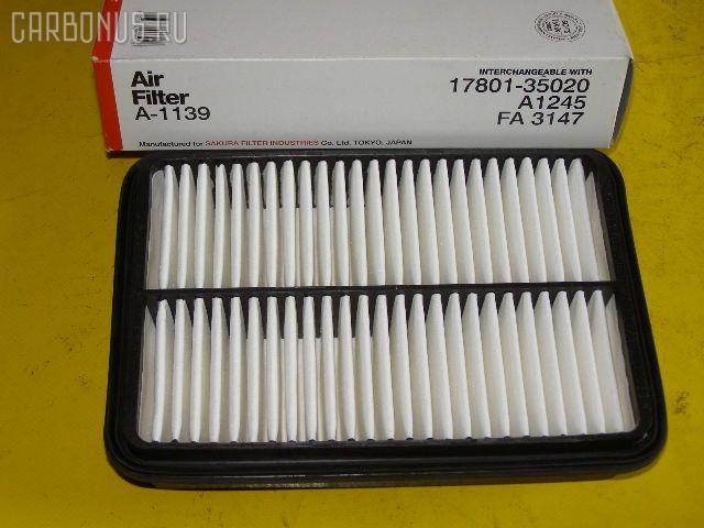 Фильтр воздушный TOYOTA ESTIMA EMINA TCR10G 2TZ-FE. Фото 5