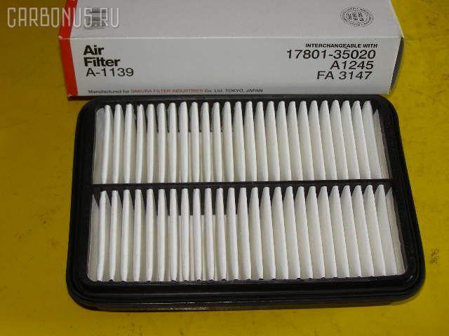 Фильтр воздушный TOYOTA ESTIMA EMINA TCR10G 2TZ-FE. Фото 6