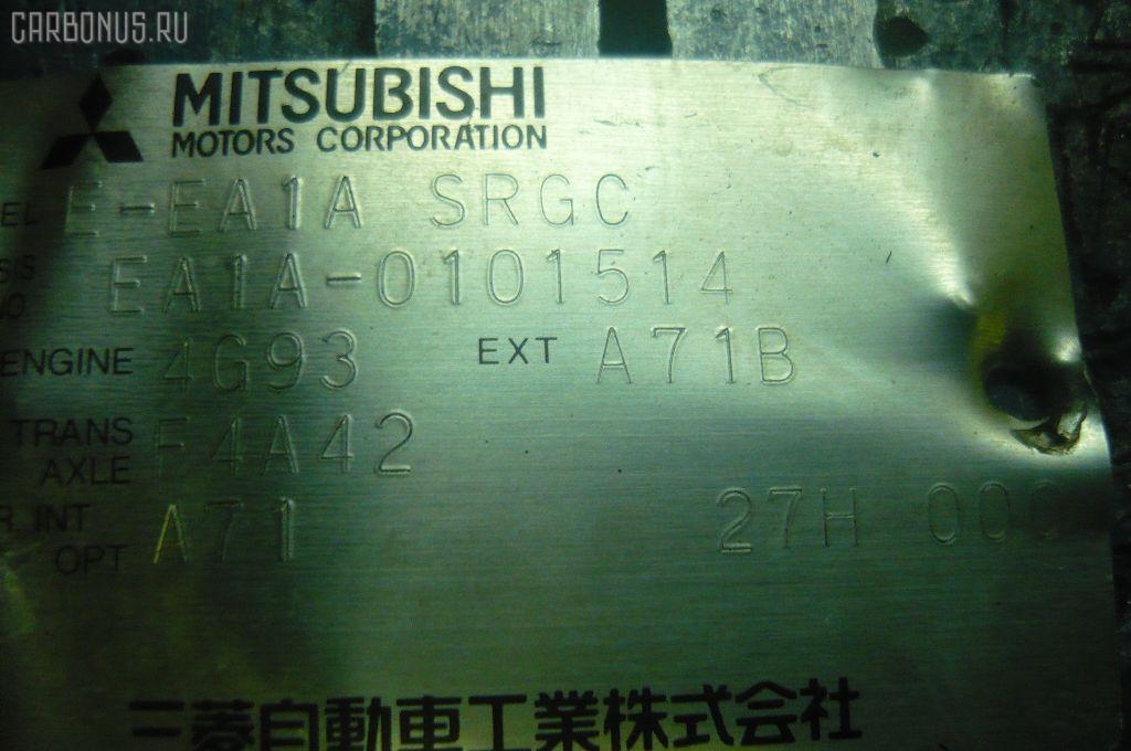 Двигатель MITSUBISHI GALANT EA1A 4G93. Фото 11