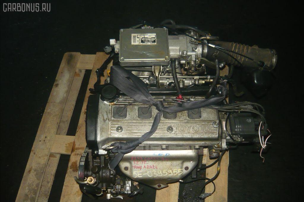 Двигатель TOYOTA CORSA EL43 5E-FE. Фото 3