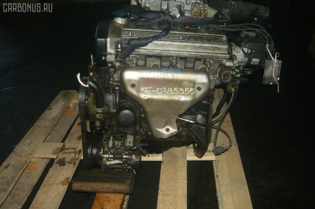 Двигатель TOYOTA CORSA EL43 5E-FE. Фото 4
