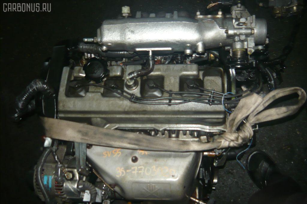 Двигатель TOYOTA VISTA SV55 3S-FE. Фото 7