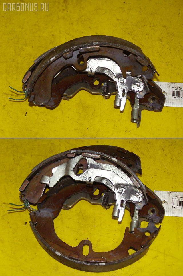 Тормозные колодки TOYOTA CALDINA AT211G 7A-FE. Фото 10