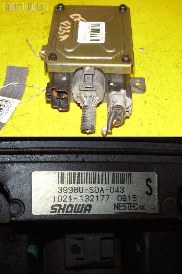 Блок управления электроусилителем руля HONDA ACCORD WAGON CF6 F23A. Фото 6