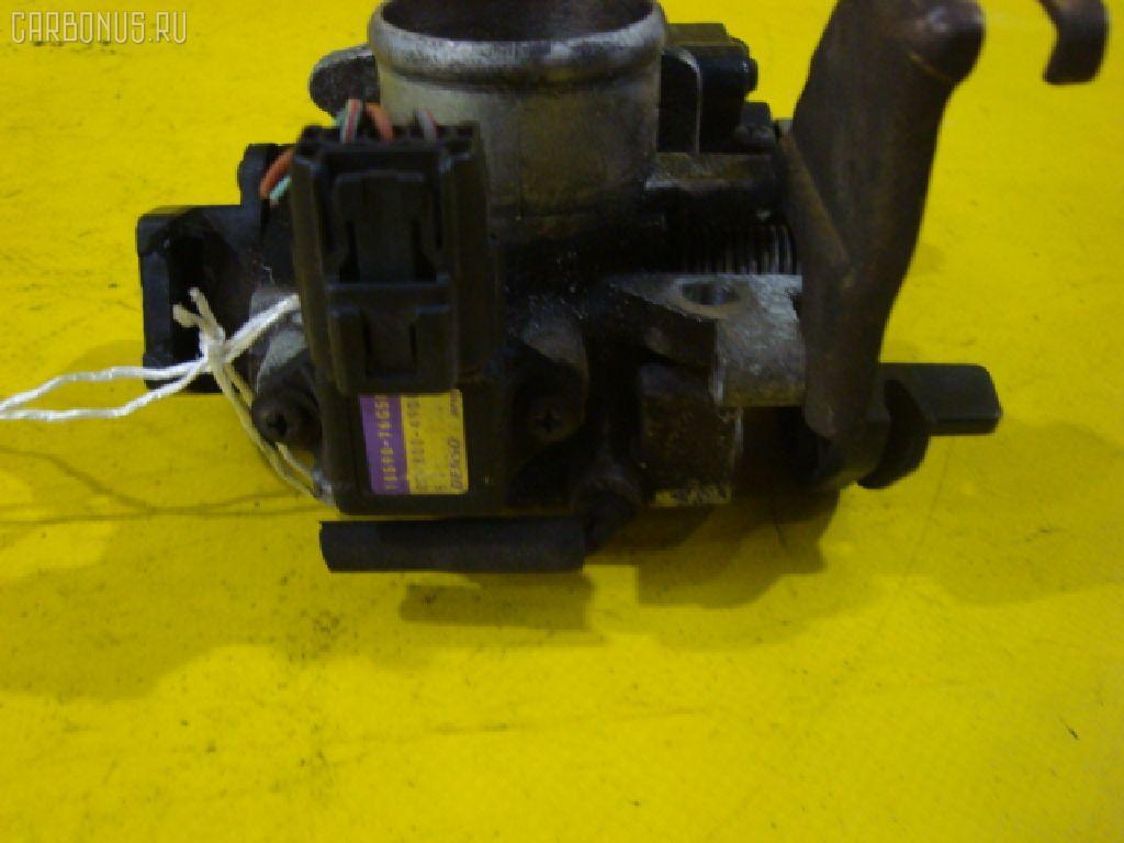 Дроссельная заслонка SUZUKI WAGON R MC21S K6A-T. Фото 1