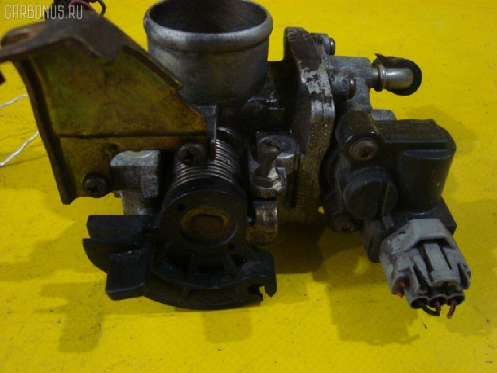 Дроссельная заслонка SUZUKI WAGON R MC21S K6A-T. Фото 2