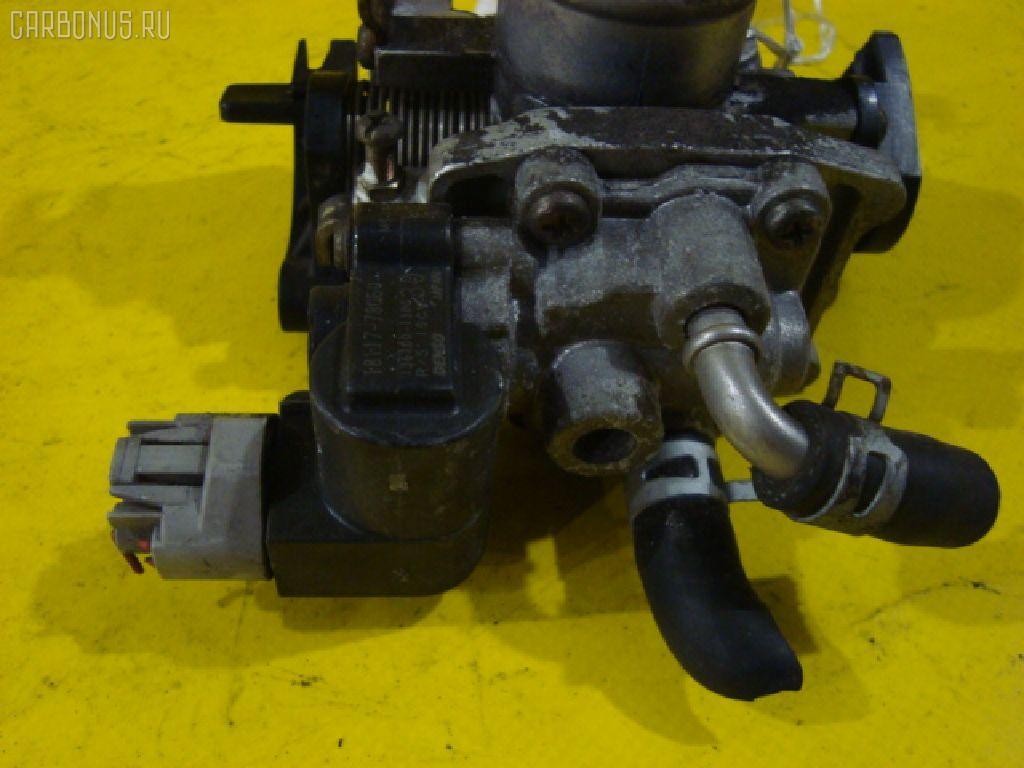 Дроссельная заслонка SUZUKI WAGON R MC21S K6A-T. Фото 3