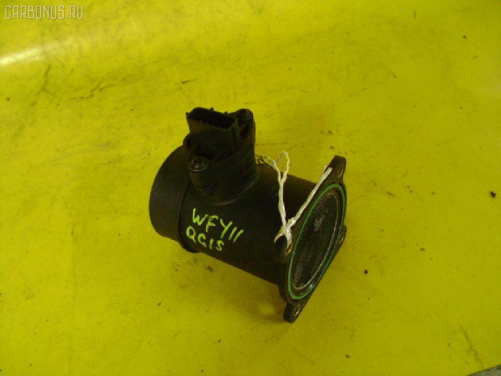 Датчик расхода воздуха NISSAN WINGROAD WFY11 QG15DE. Фото 11