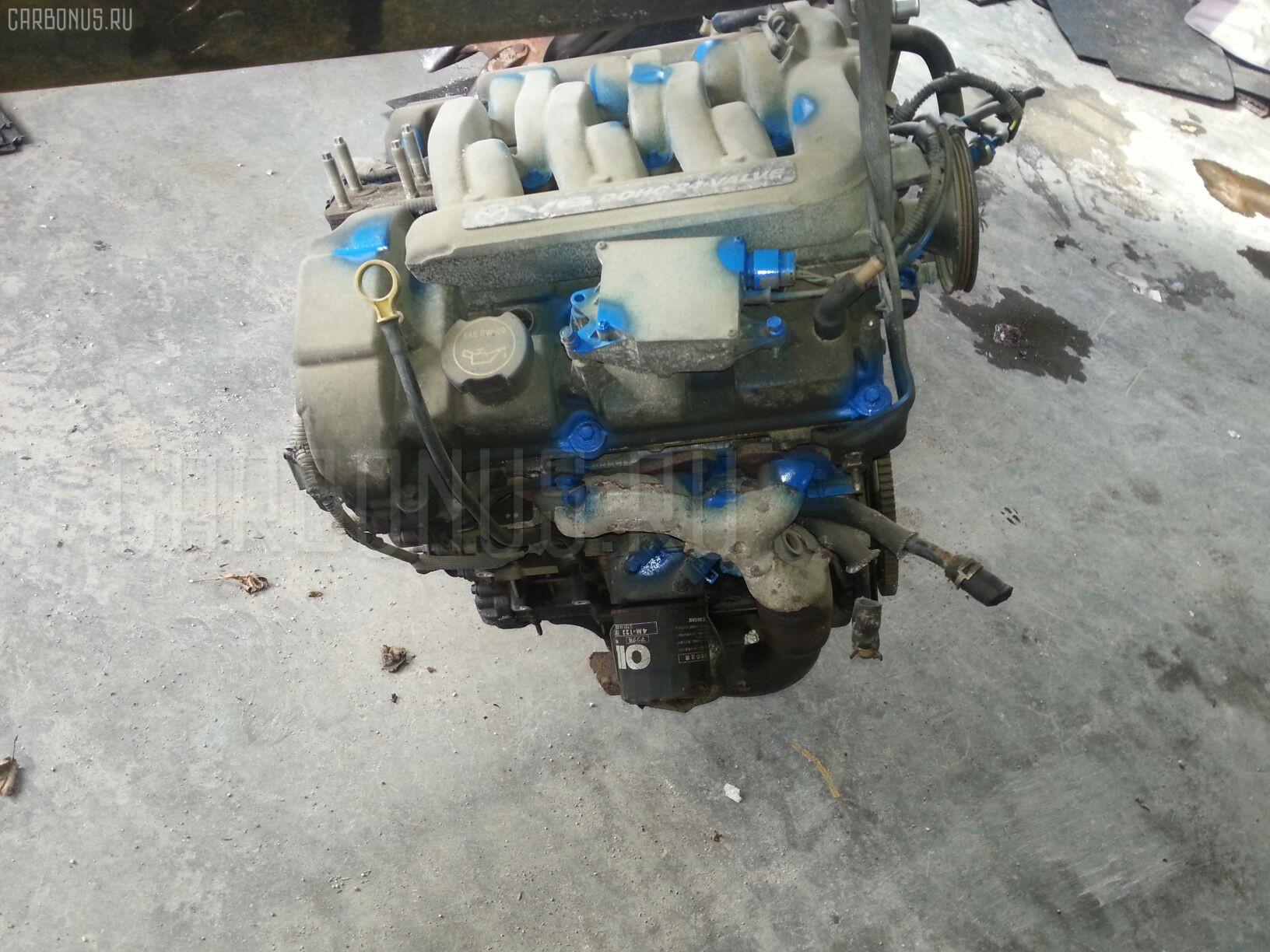 Блок двигателя MAZDA MPV LW5W GY Фото 1