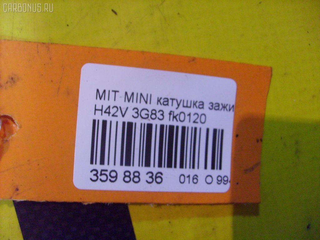 Катушка зажигания MITSUBISHI MINICA H42V 3G83 Фото 3