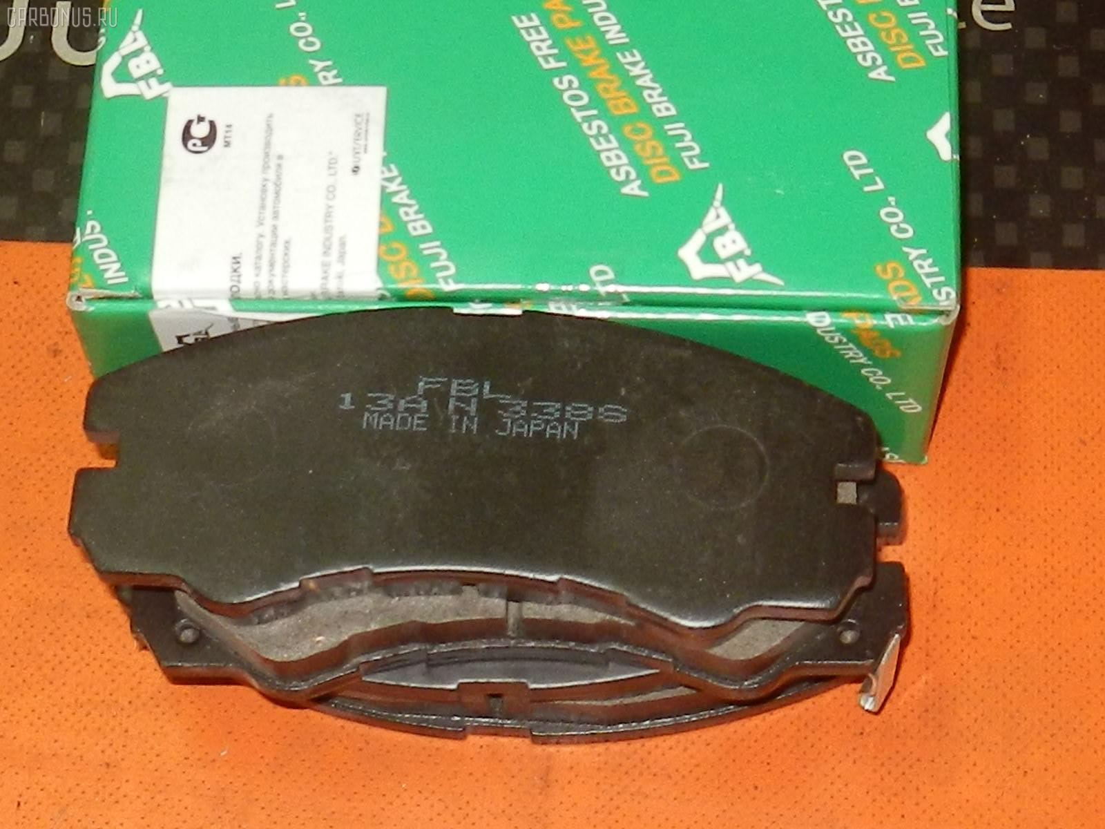 Тормозные колодки ISUZU BIGHORN UB69. Фото 4