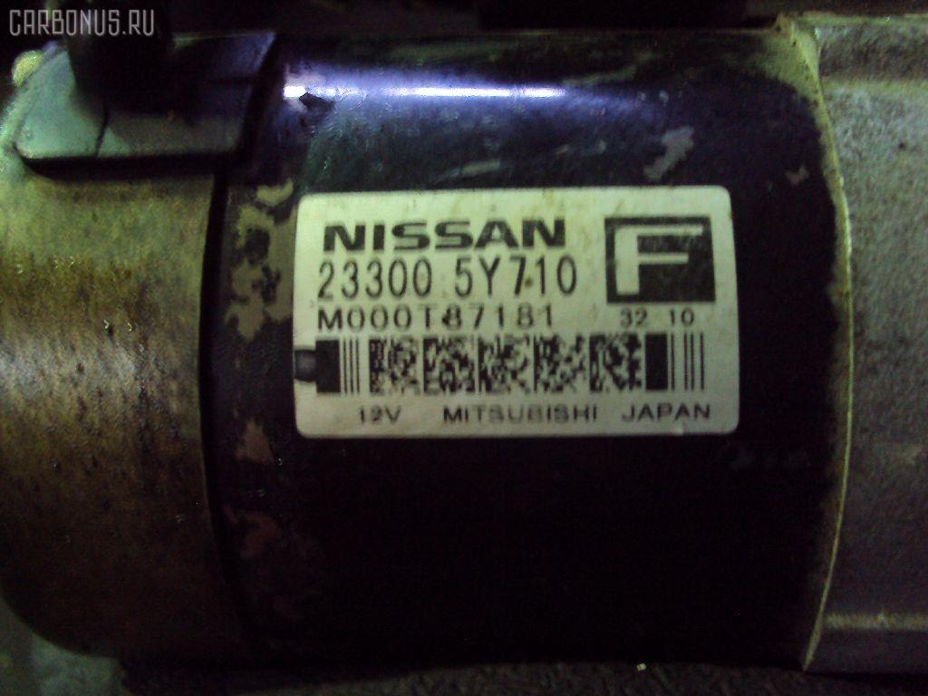 Стартер NISSAN TEANA J31 VQ23DE Фото 1