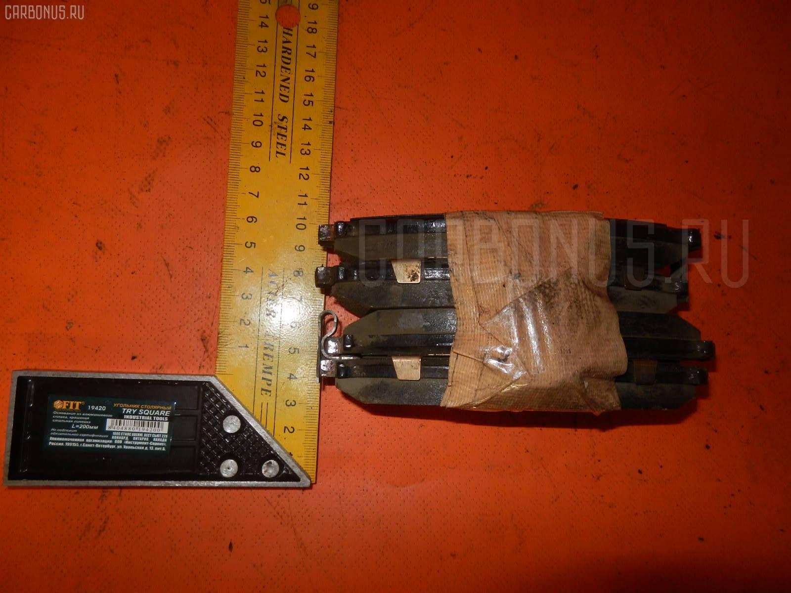 Тормозные колодки NISSAN BLUEBIRD EU14 SR18DE Фото 1