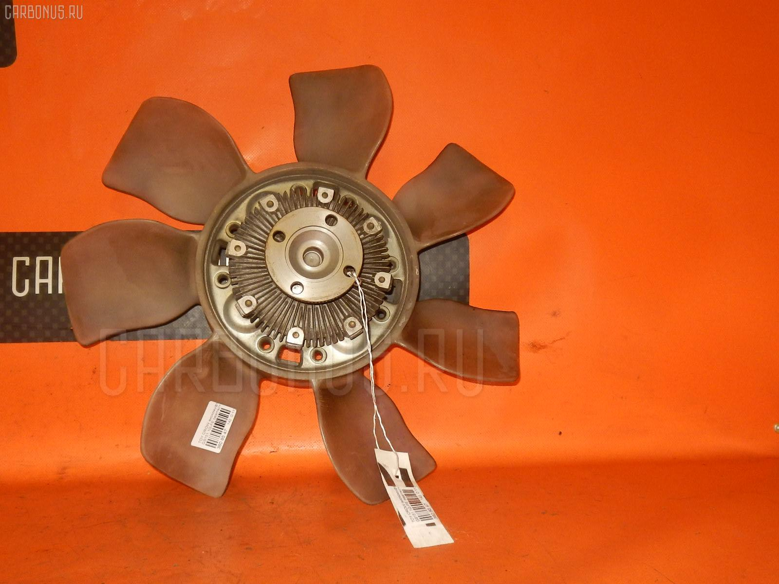 Вискомуфта TOYOTA MARK II BLIT GX115W 1G-FE. Фото 11