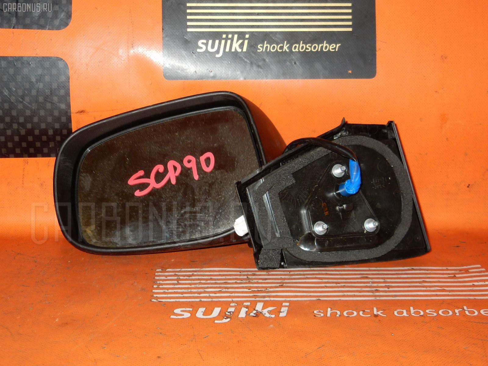 Зеркало двери боковой TOYOTA VITZ SCP90. Фото 10