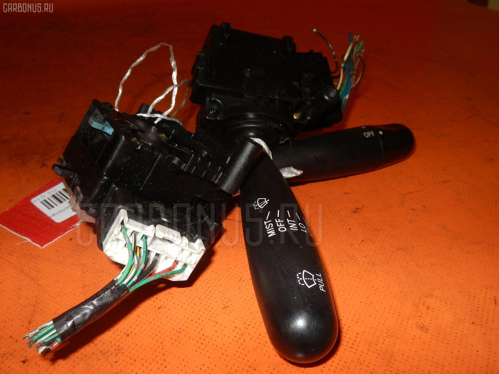 Переключатель поворотов TOYOTA PROBOX NCP50V. Фото 3
