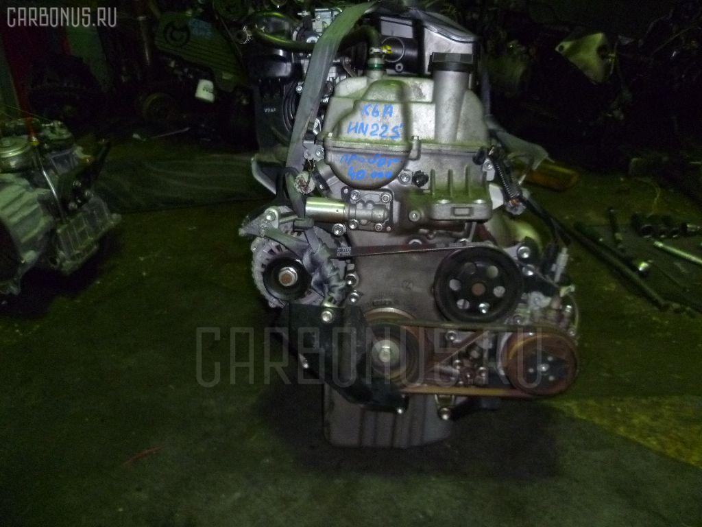 Двигатель SUZUKI KEI HN22S K6A. Фото 7