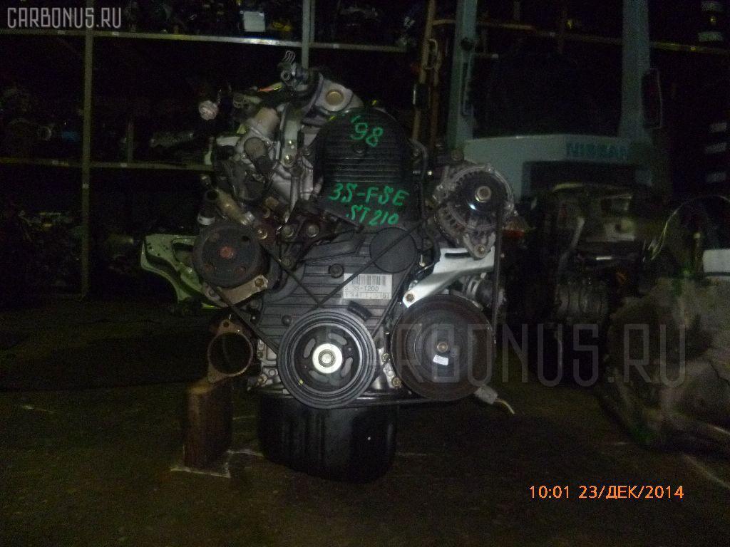 Двигатель TOYOTA CORONA PREMIO ST210 3S-FSE. Фото 11