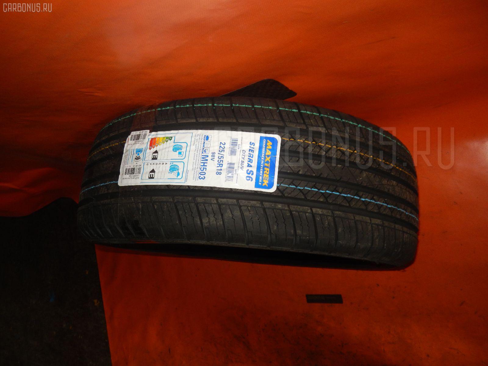 Автошина легковая летняя SIERRA S6 225/55R18 MAXTREK Фото 2