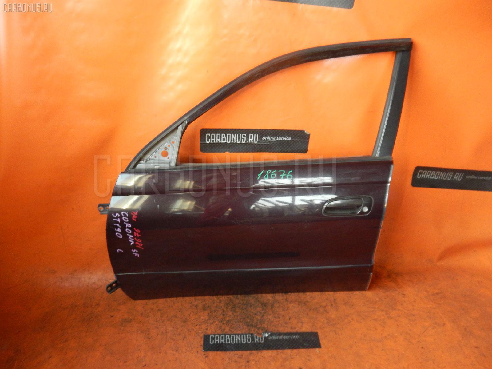 Дверь боковая TOYOTA CORONA ST190. Фото 7