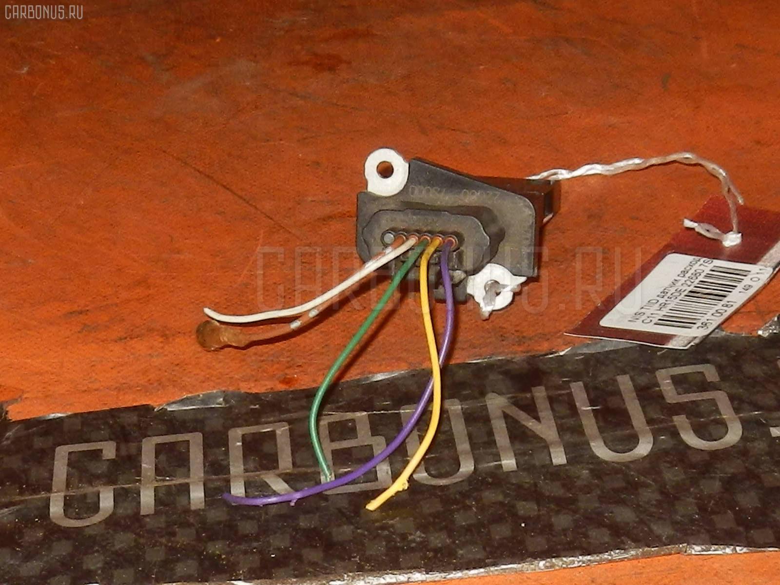 Датчик расхода воздуха NISSAN WINGROAD WRY11 QR20DE. Фото 3