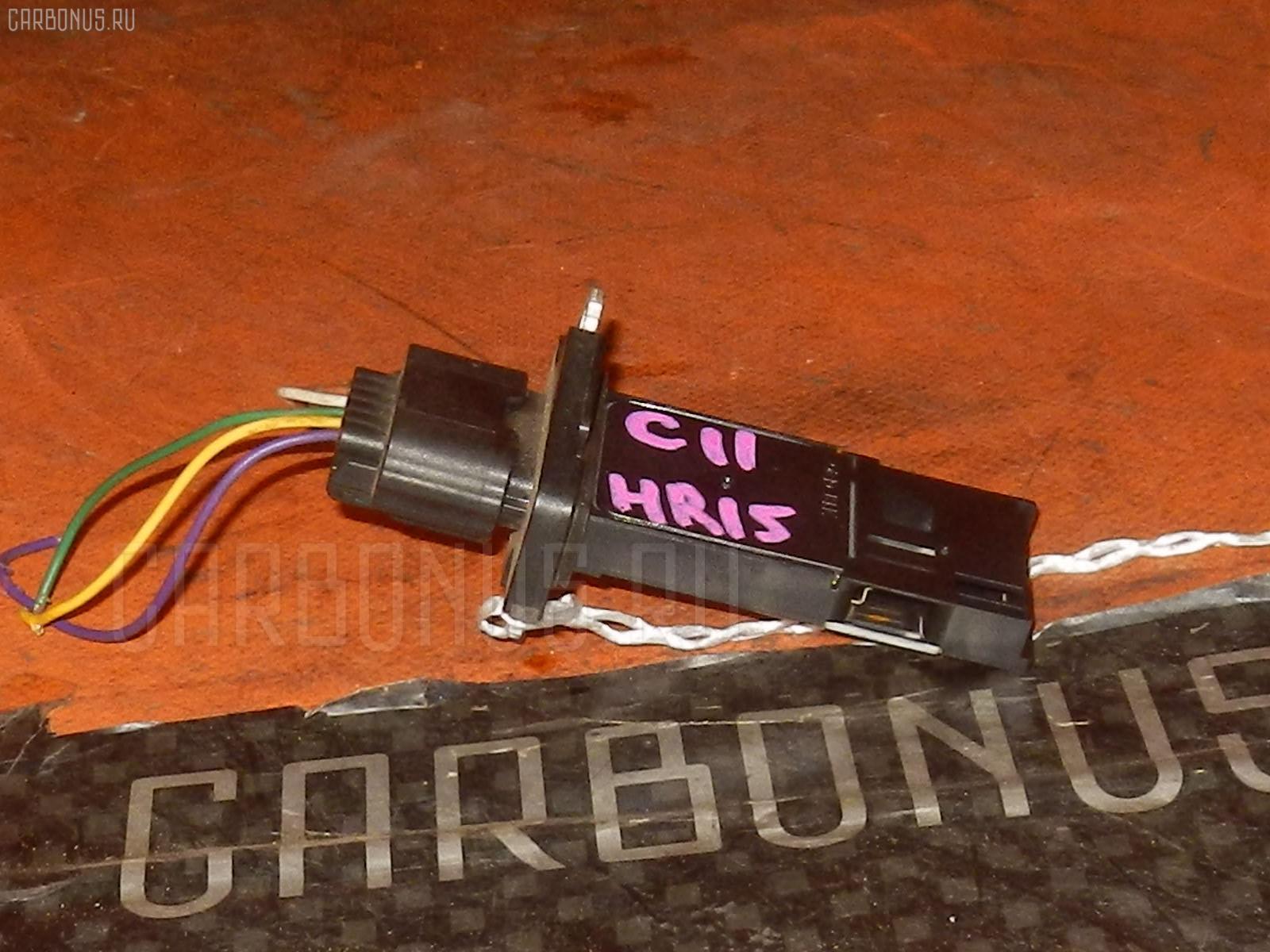 Датчик расхода воздуха NISSAN WINGROAD WRY11 QR20DE. Фото 4