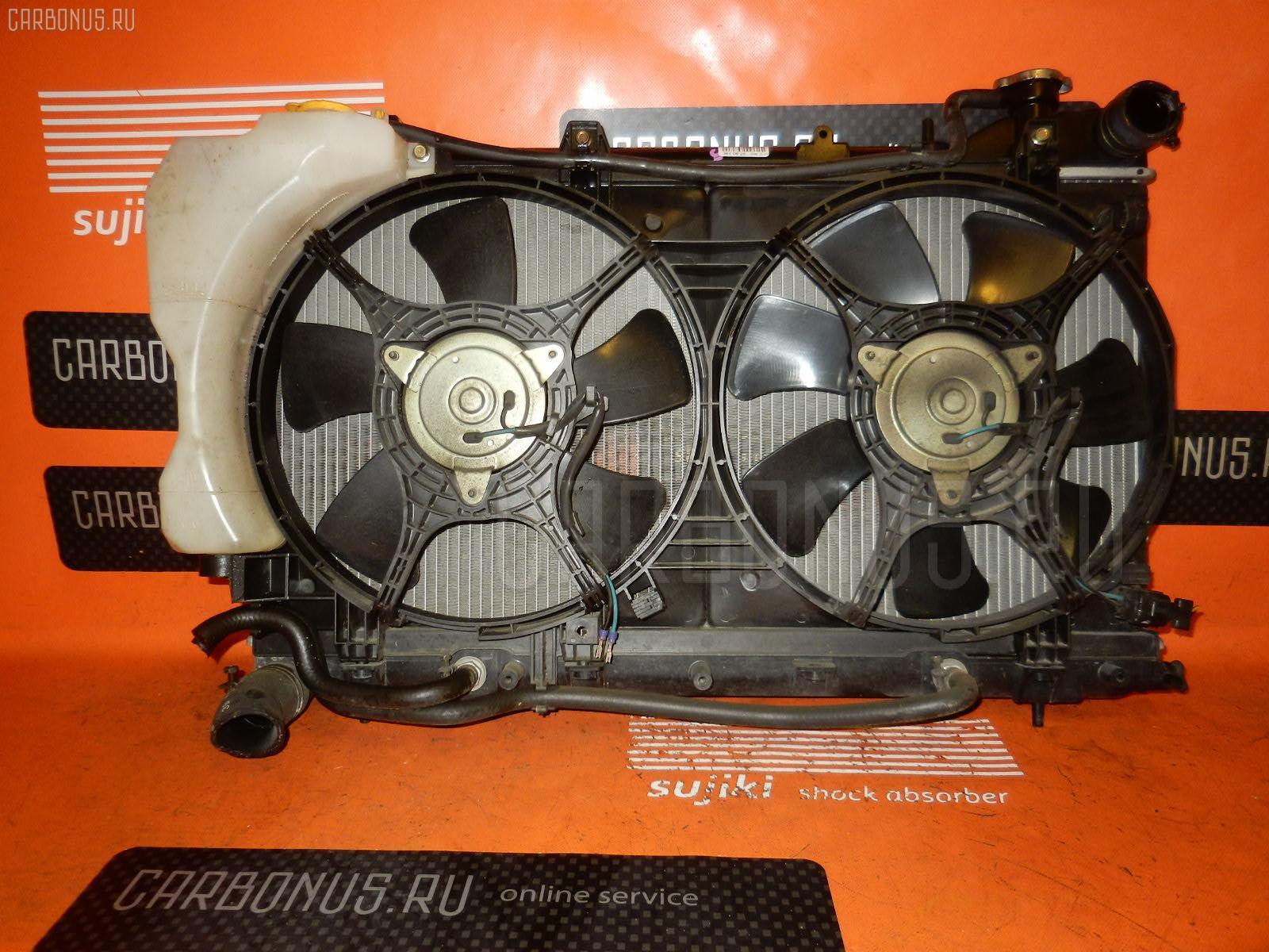 Радиатор ДВС SUBARU FORESTER SG5 EJ20. Фото 8