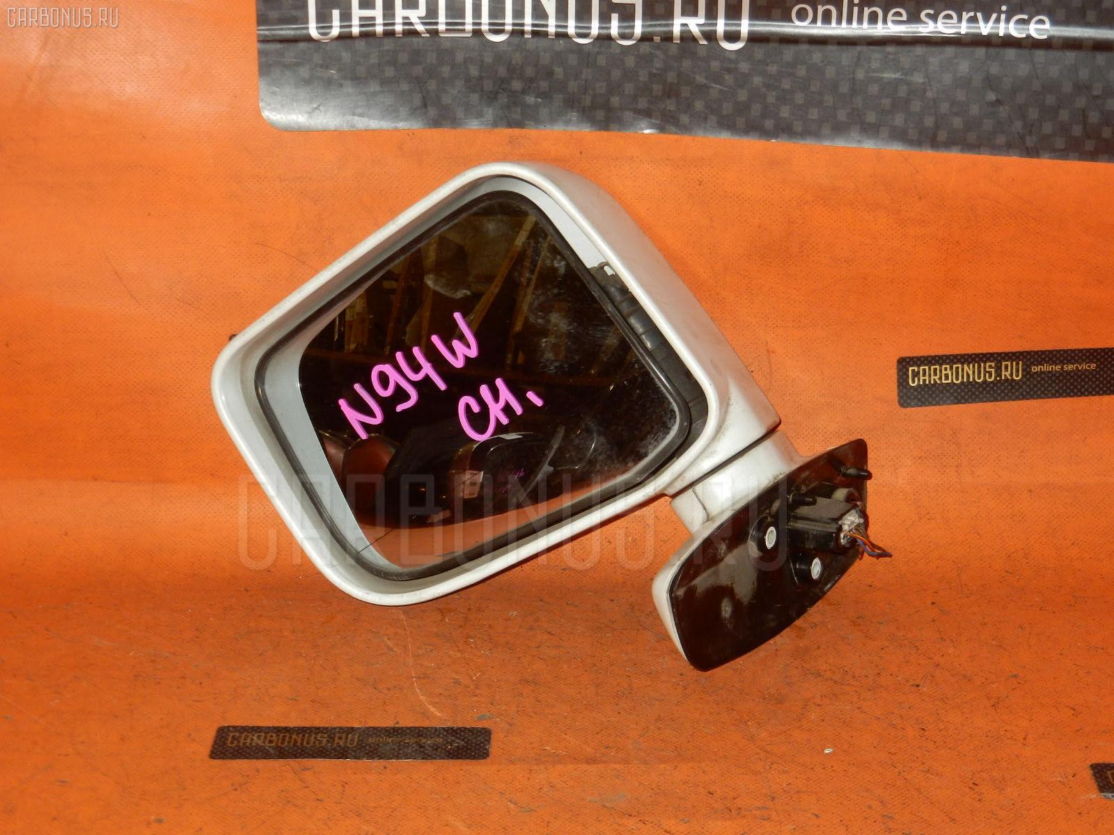 Зеркало двери боковой MITSUBISHI CHARIOT GRANDIS N94W. Фото 3