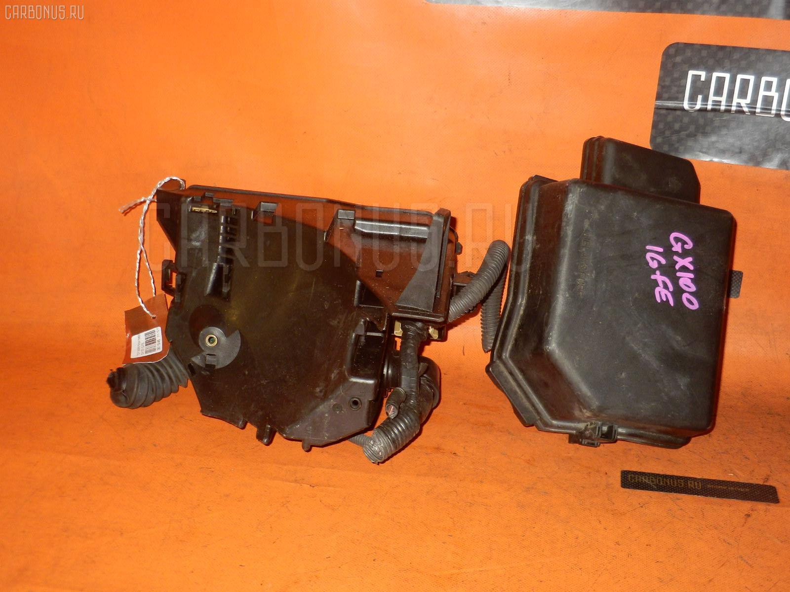 Блок предохранителей TOYOTA MARK II GX100 1G-FE. Фото 11