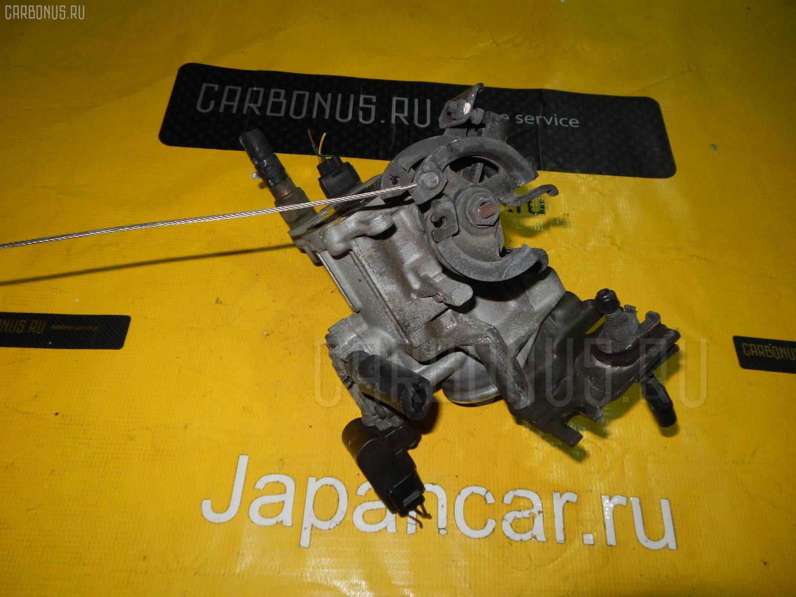 Дроссельная заслонка TOYOTA CHASER JZX100 1JZ-GE. Фото 4