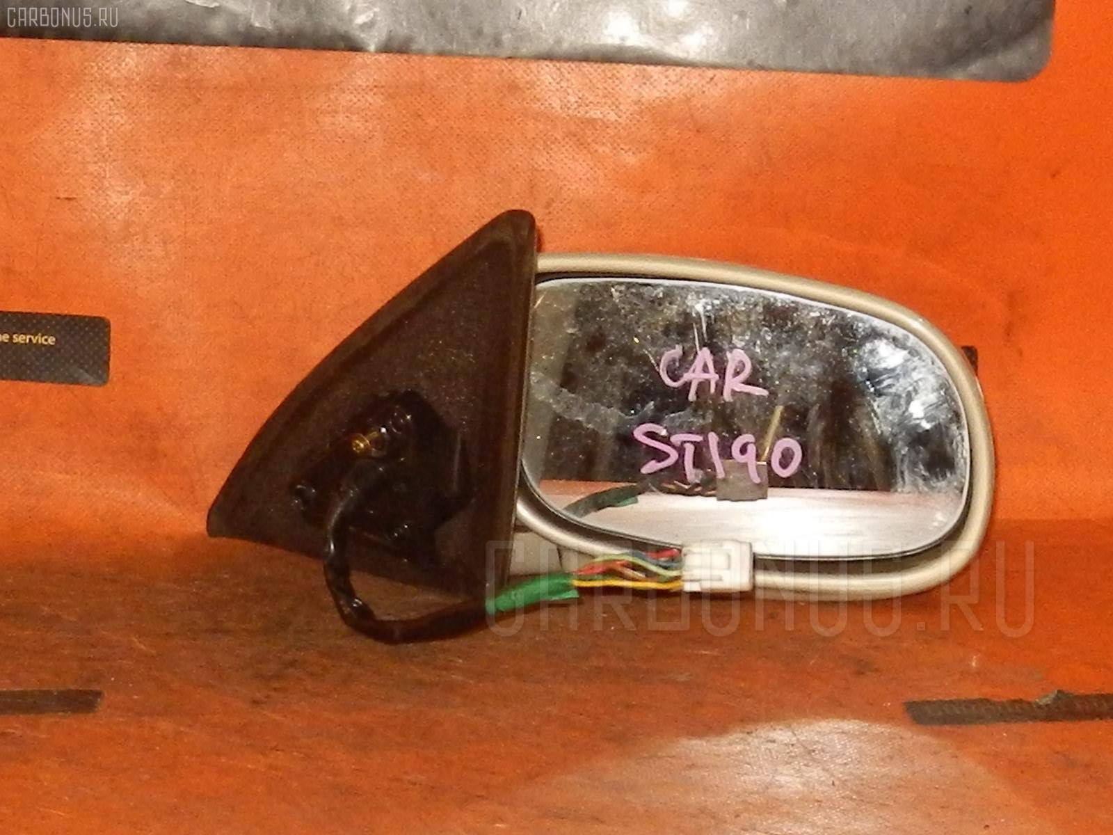 Зеркало двери боковой TOYOTA CARINA ST190 Фото 4
