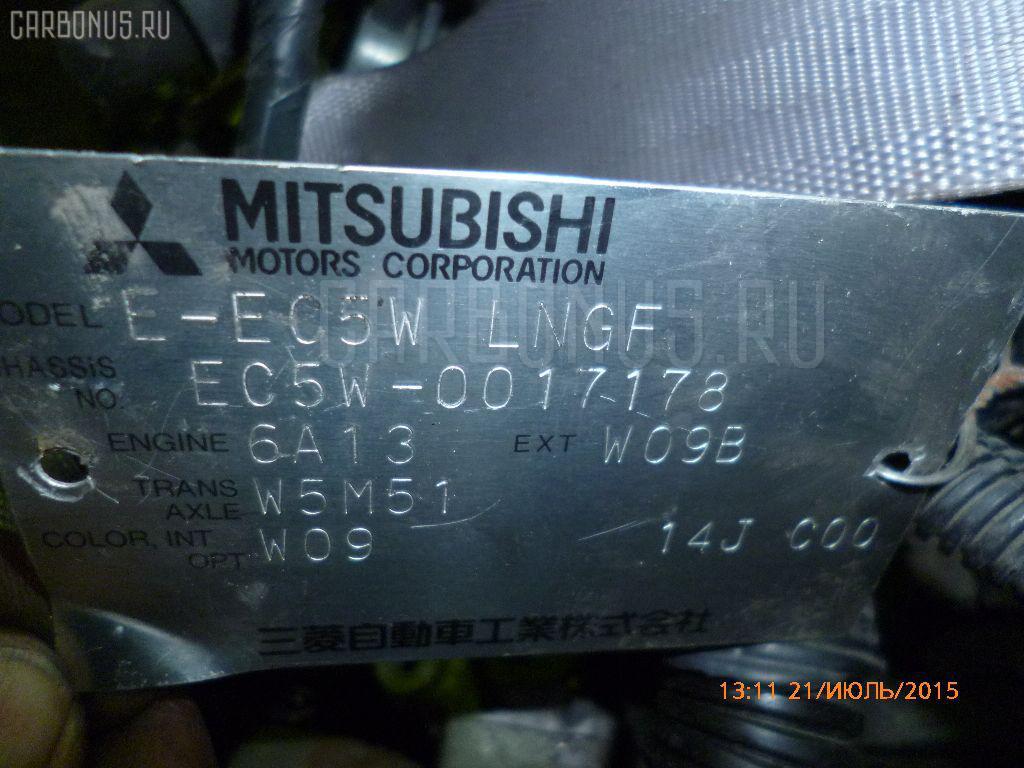 Двигатель MITSUBISHI LEGNUM EC5W 6A13-TT. Фото 5