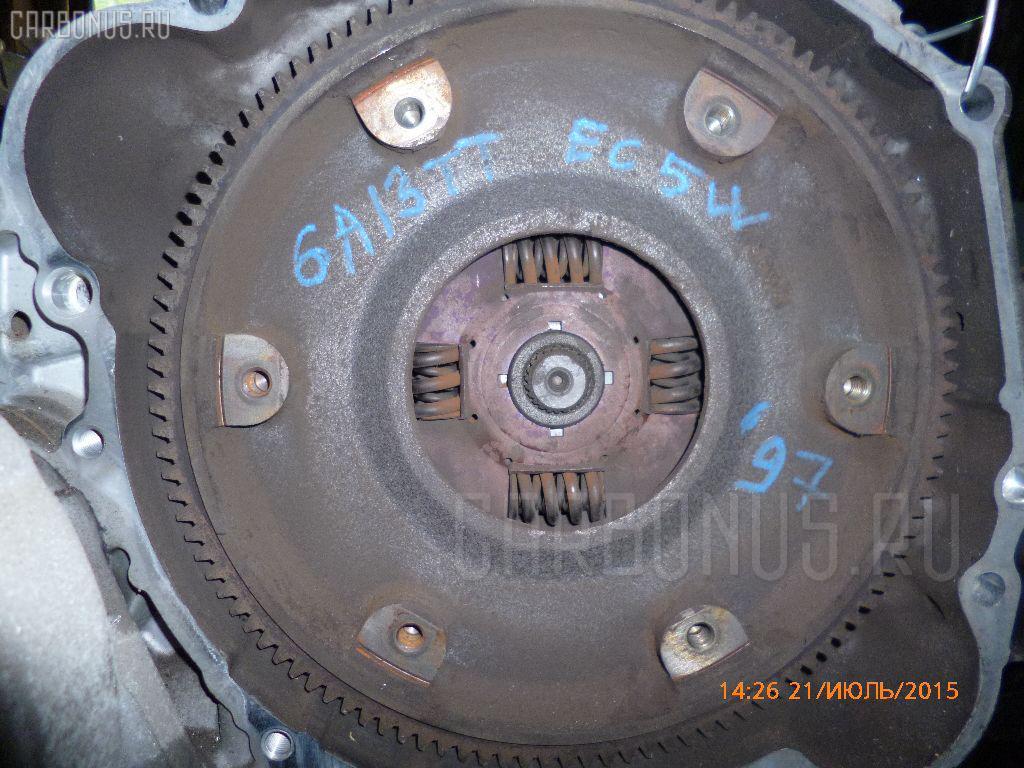 КПП механическая MITSUBISHI LEGNUM EC5W 6A13-TT. Фото 3