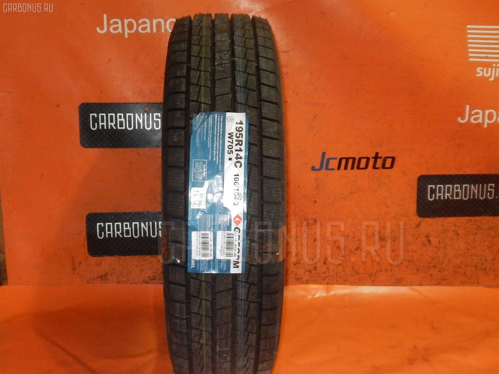 Автошина грузовая зимняя W705 195R14LT GOFORM Фото 1