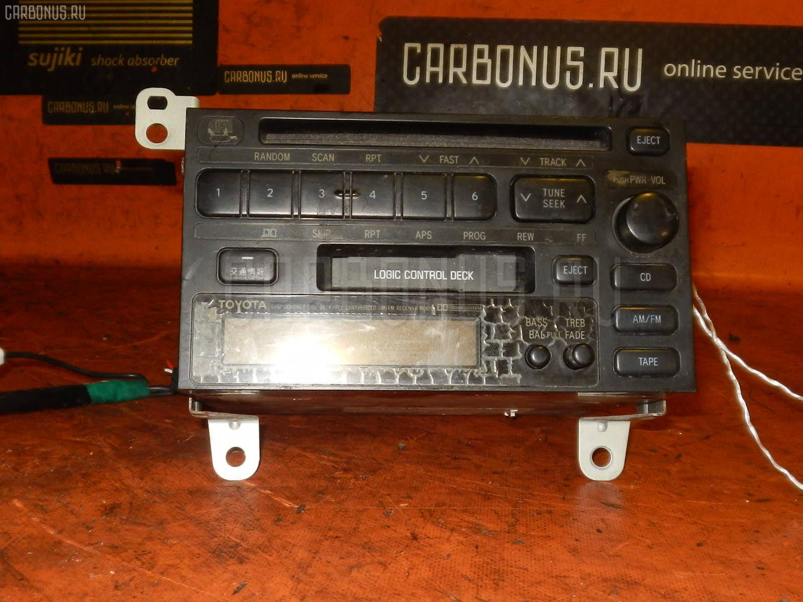 Автомагнитофон TOYOTA MARK II JZX90 Фото 2