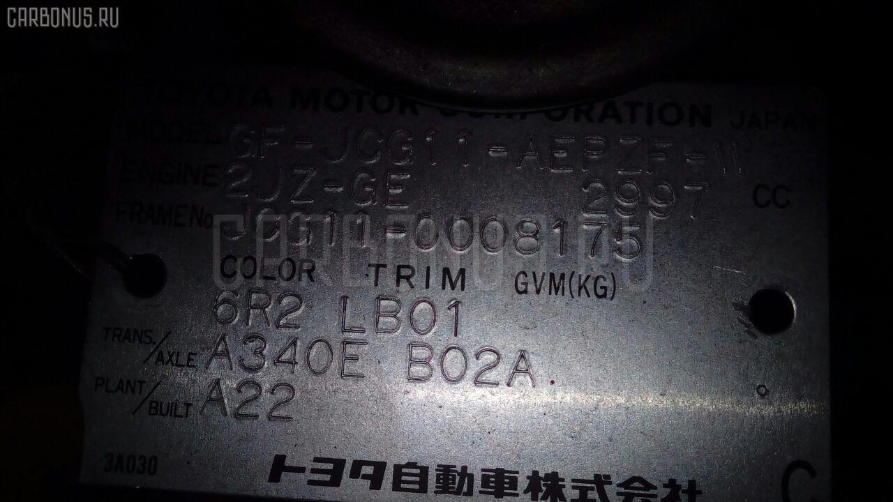 КПП автоматическая TOYOTA PROGRES JCG11 2JZ-GE. Фото 8