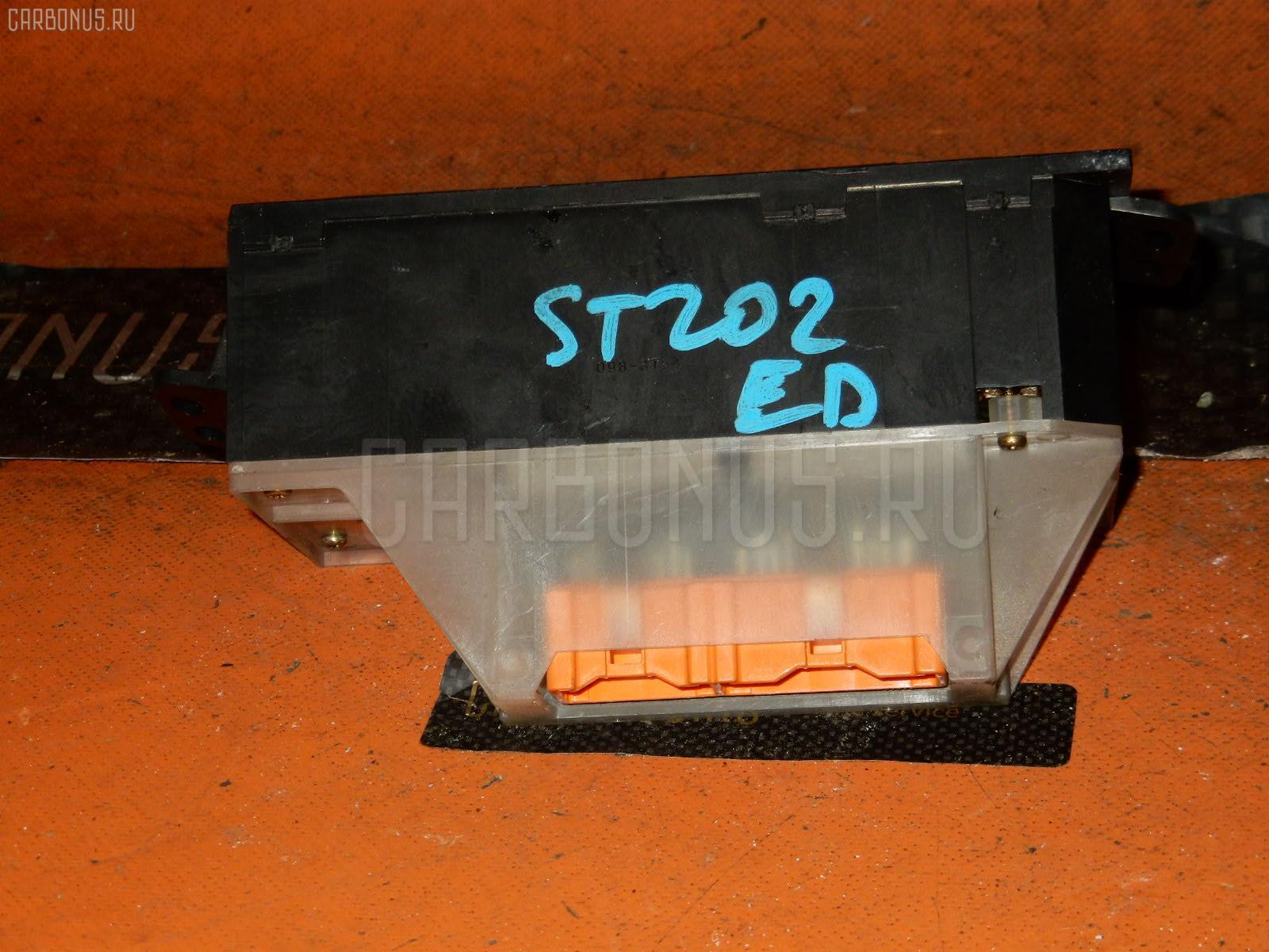 Блок управления климатконтроля TOYOTA CARINA ED ST202 3S-FE. Фото 4
